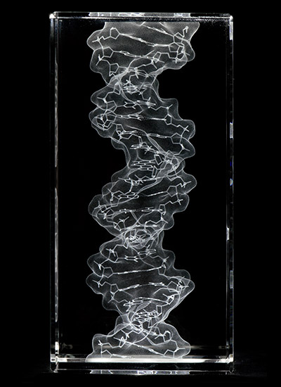 DNA in glass